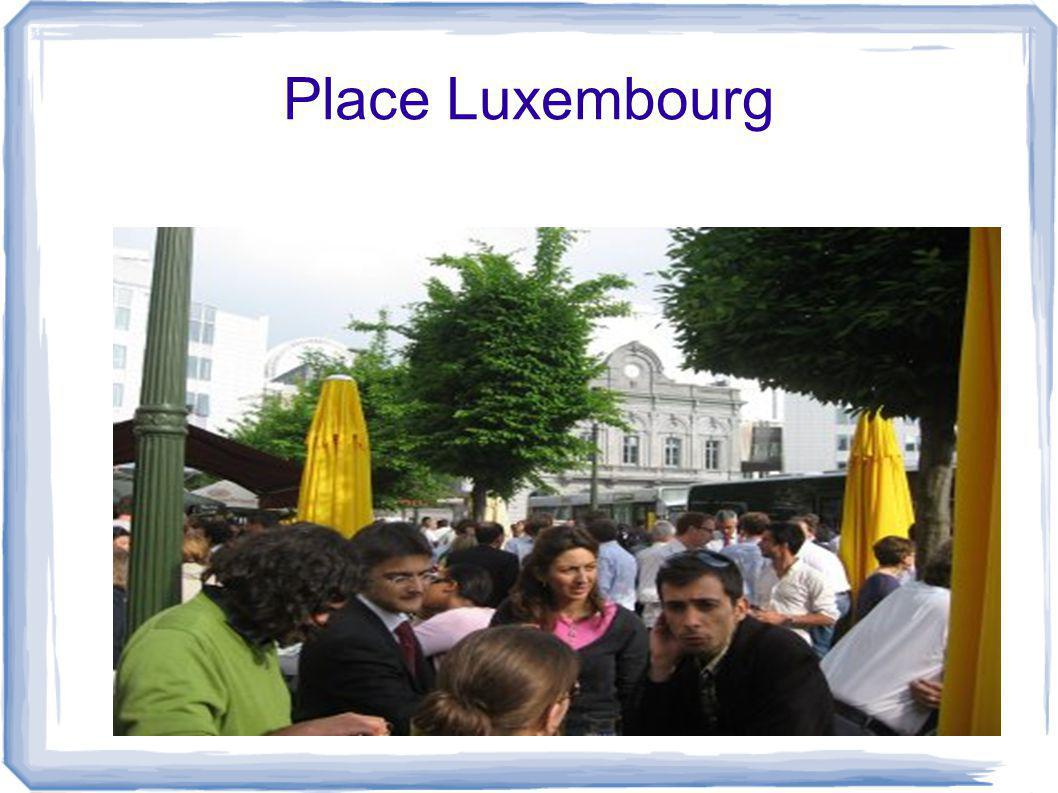 Place Luxembourg
