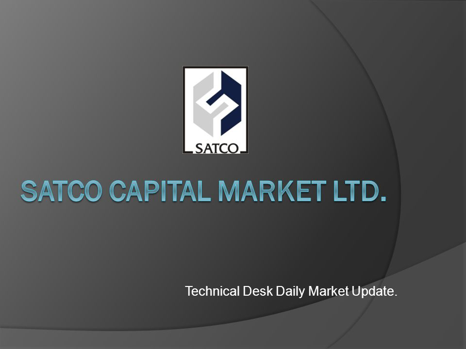 Technical Desk Daily Market Update.