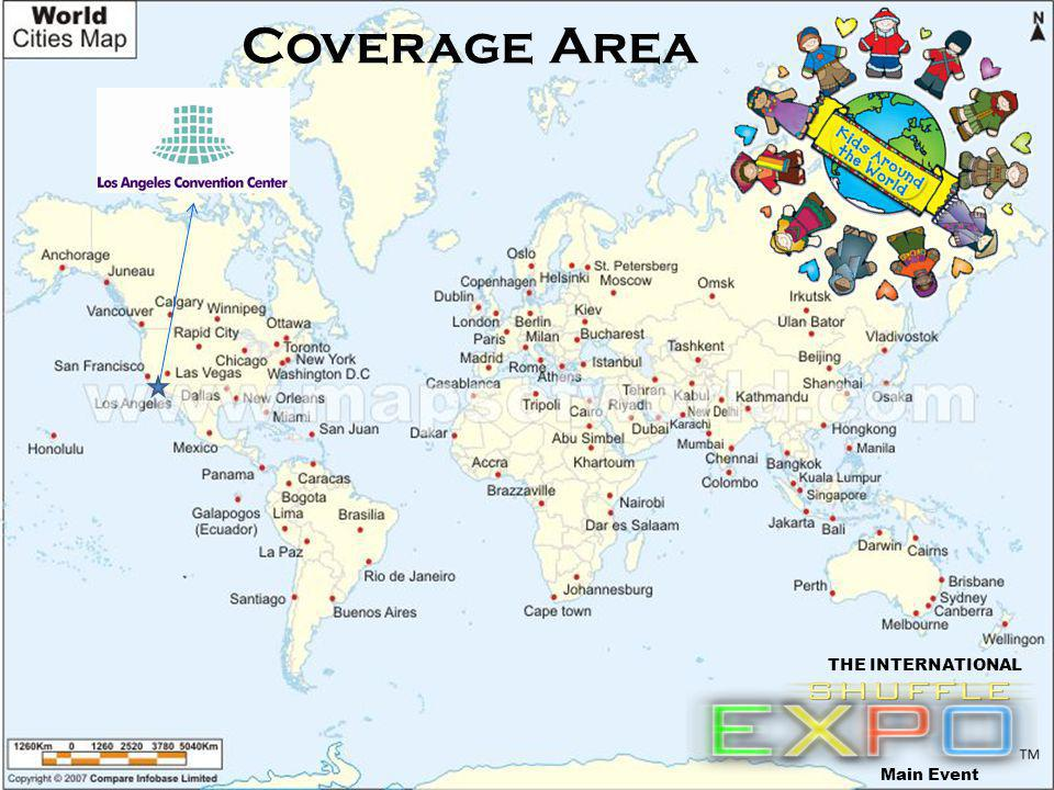 Coverage Area Main Event THE INTERNATIONAL
