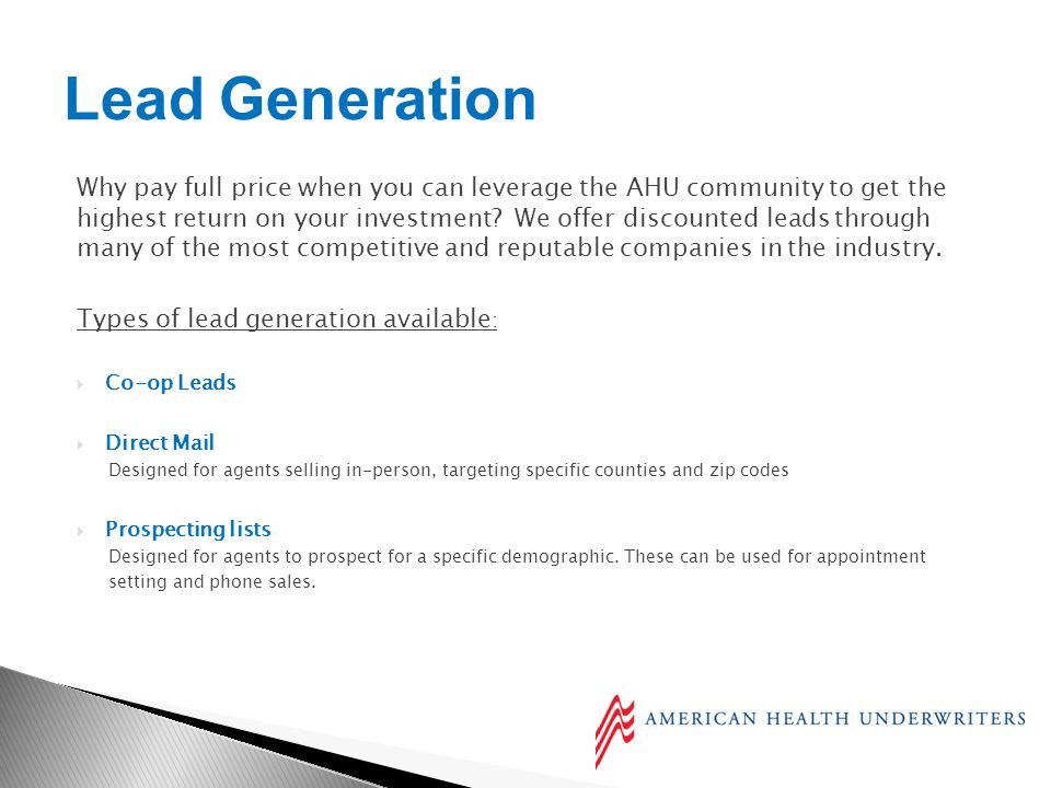 Why pay full price when you can leverage the AHU community to get the highest return on your investment.