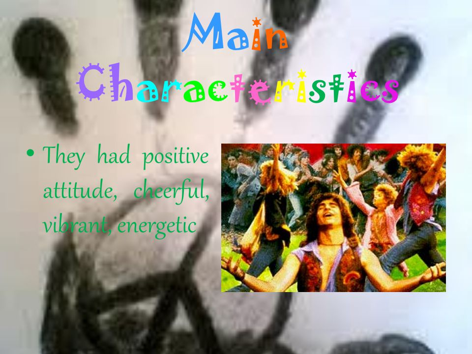 Main Characteristics within culture also manifests the consumption of cannabis and psychoactive drugs, but reject the cocaine, heroin and others for t