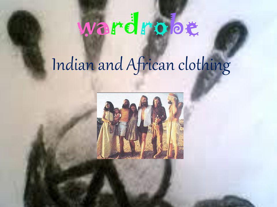 wardrobe Shirts long, long skirts, pants with cuffs like elephant foot.