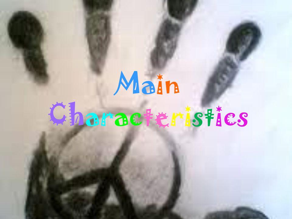 Content Main Characteristics Symbols Music wardrobe