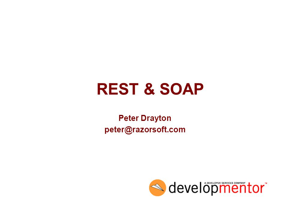 2 Agenda What is REST? How does REST relate to SOAP? Can SOAP & REST be combined?