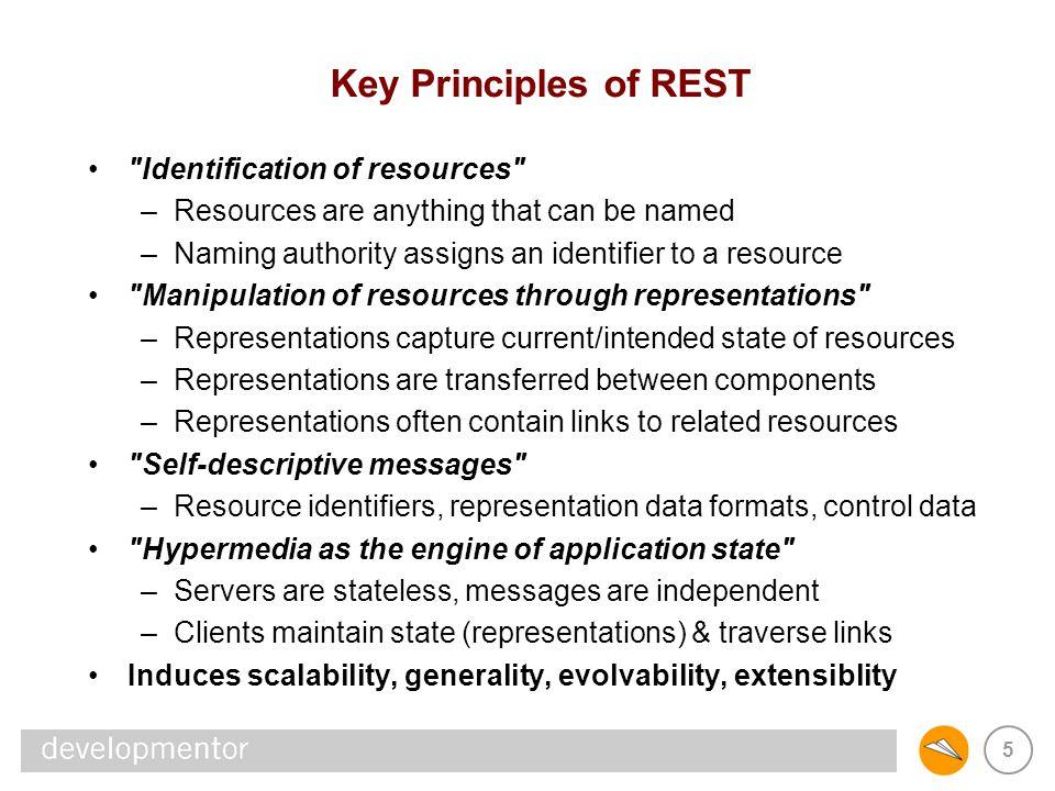 5 Key Principles of REST
