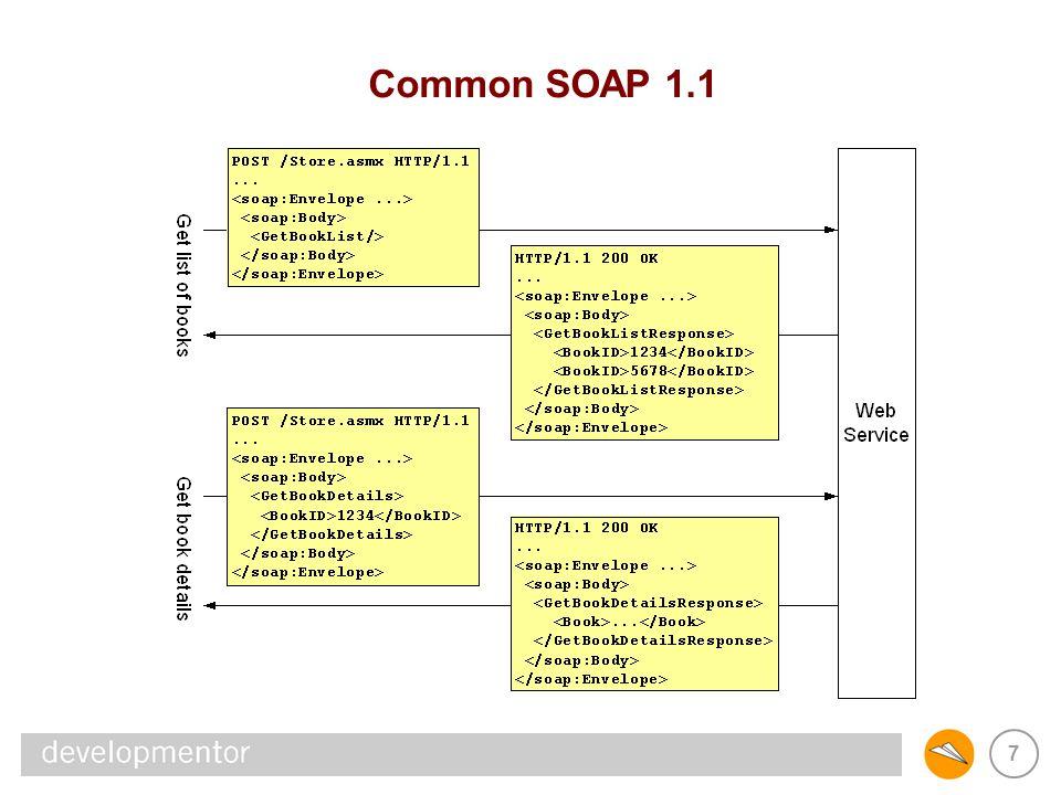 7 Common SOAP 1.1