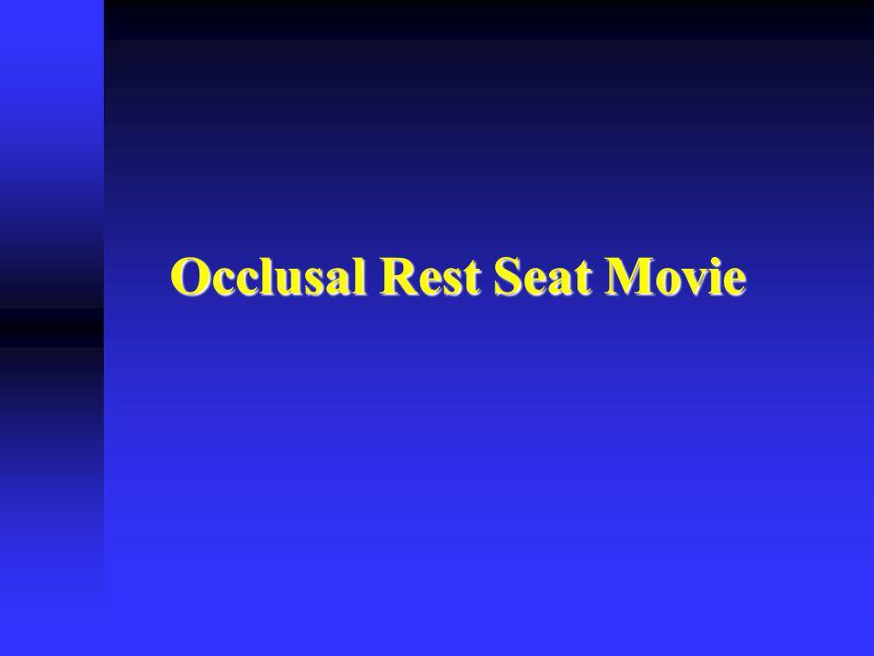 Occlusal Rest Seat Movie