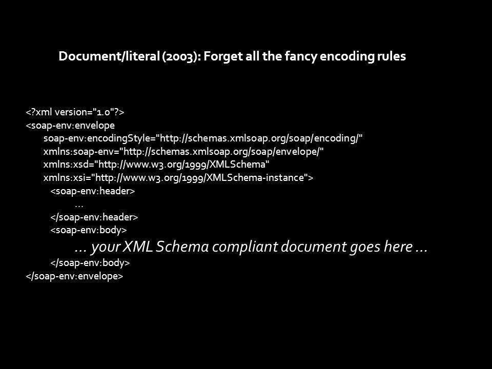 <soap-env:envelope soap-env:encodingStyle= http://schemas.xmlsoap.org/soap/encoding/ xmlns:soap-env= http://schemas.xmlsoap.org/soap/envelope/ xmlns:soap-enc= http://schemas.xmlsoap.org/soap/encoding/ xmlns:xsd= http://www.w3.org/1999/XMLSchema xmlns:xsi= http://www.w3.org/1999/XMLSchema-instance >...