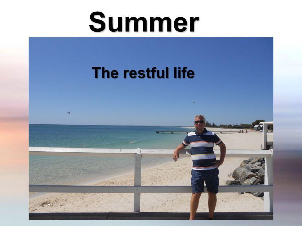 Summer The restful life