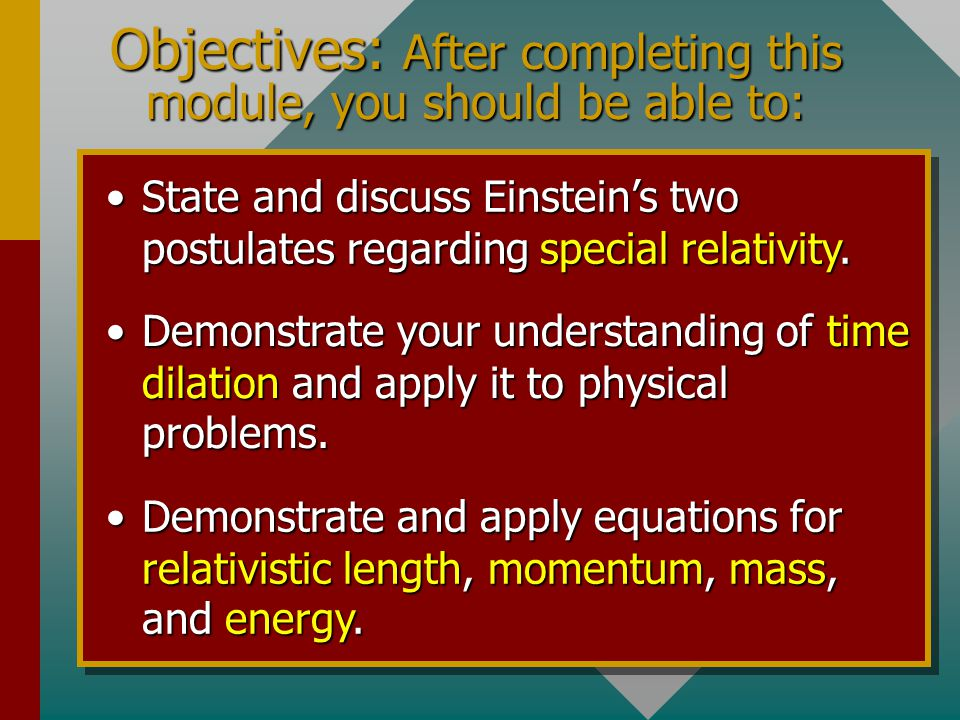 Chapter 38A - Relativity A PowerPoint Presentation by Paul E. Tippens, Professor of Physics Southern Polytechnic State University A PowerPoint Present