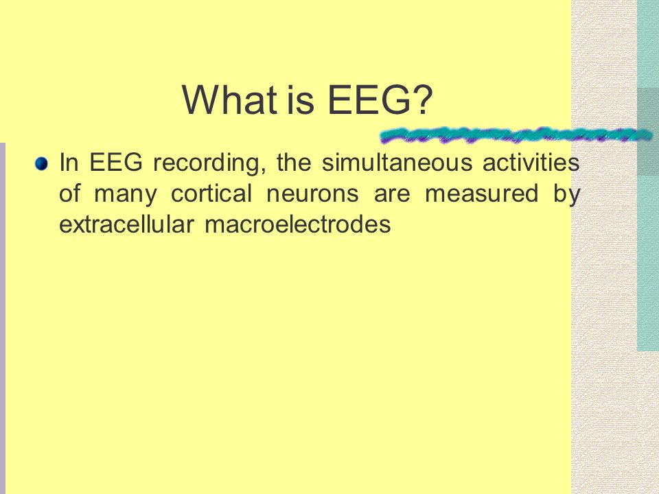 What is EEG.