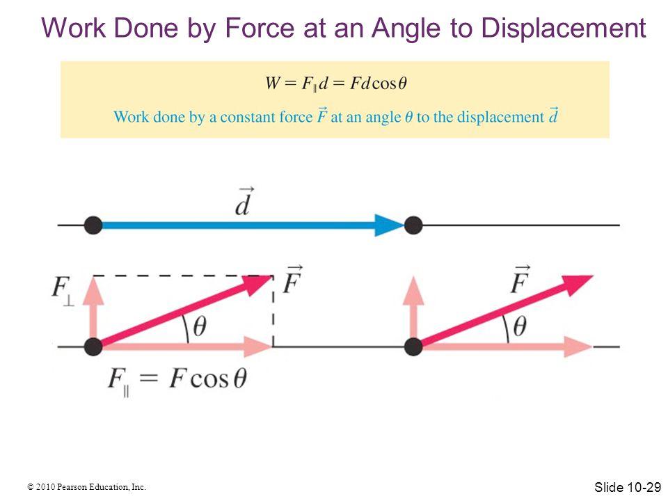 © 2010 Pearson Education, Inc. Energy Equations Slide 10-30