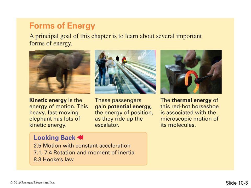 © 2010 Pearson Education, Inc. Slide 10-4
