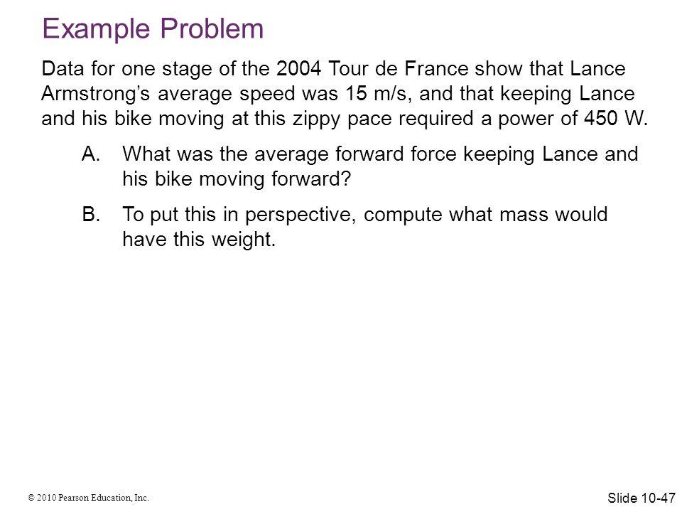 © 2010 Pearson Education, Inc. Summary Slide 10-48