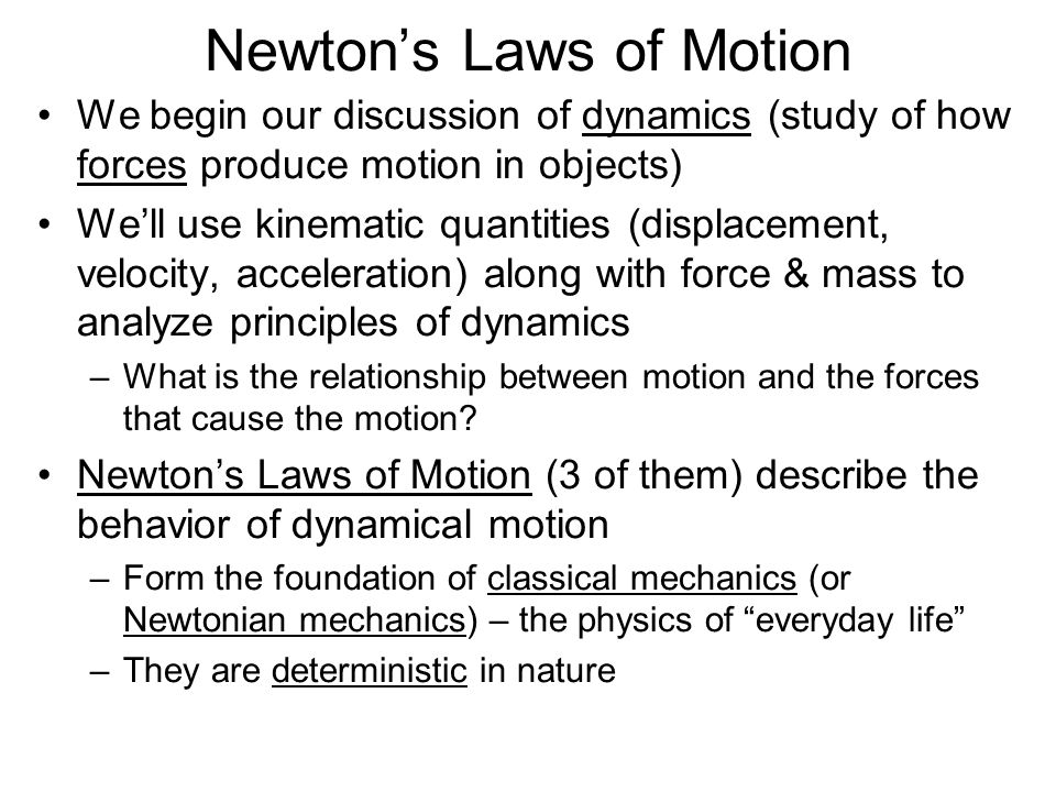 Friction Friction is a contact force between two surfaces that always opposes motion The kind of friction that acts when a body slides over a surface is called the kinetic friction force (kinetic for motion) –The magnitude of is proportional to the magnitude of the normal force N : –Constant k = coefficient of kinetic friction (depends on the two surfaces in contact) W N F f is always to