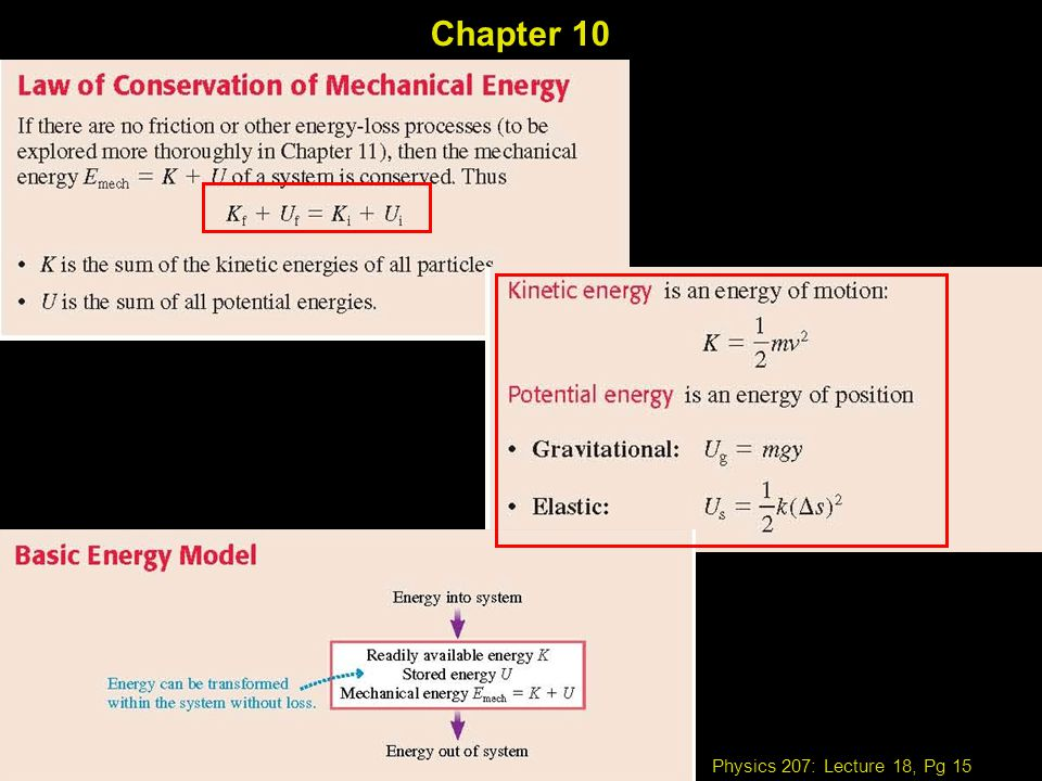 Physics 207: Lecture 18, Pg 15 Chapter 10