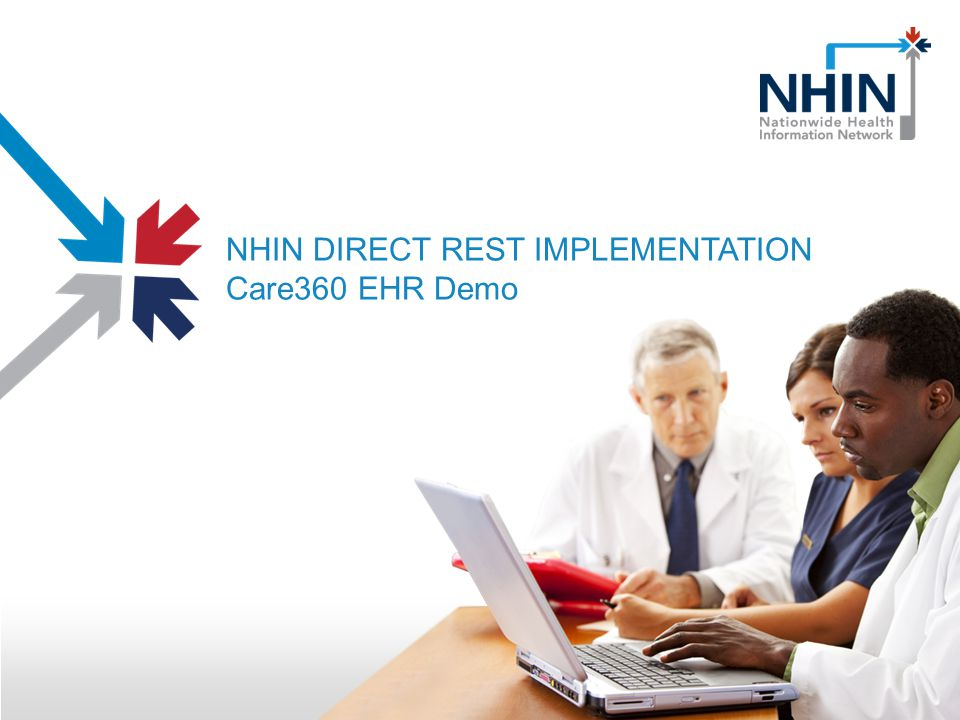 NHIN DIRECT REST IMPLEMENTATION Care360 EHR Demo