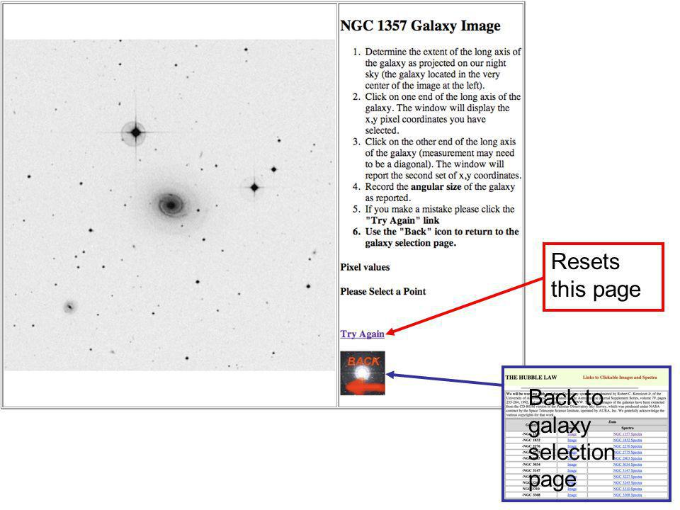 NGC 1357 image Back to galaxy selection page Resets this page