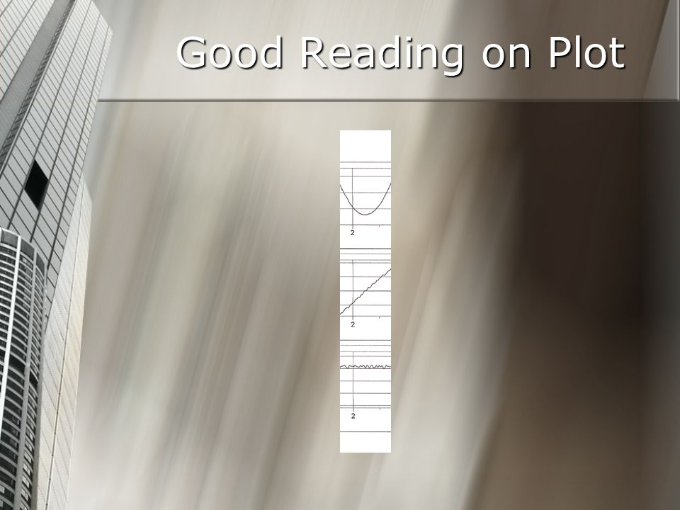 Good Reading on Plot