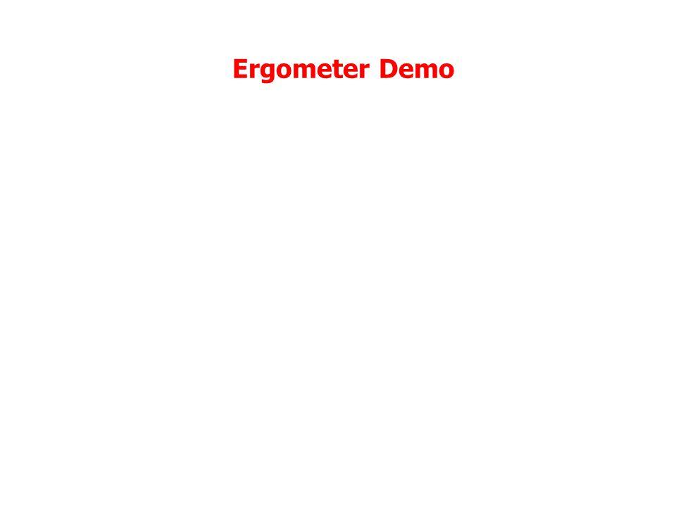 Ergometer Demo