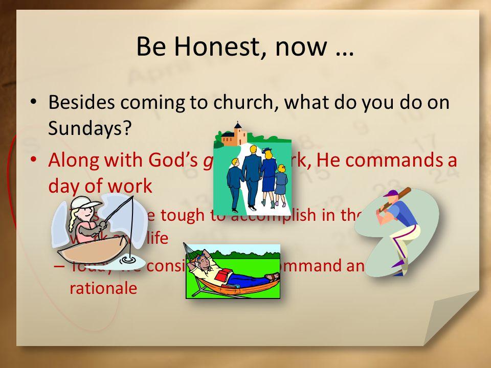 Listen for a benefit of Sabbath rest.