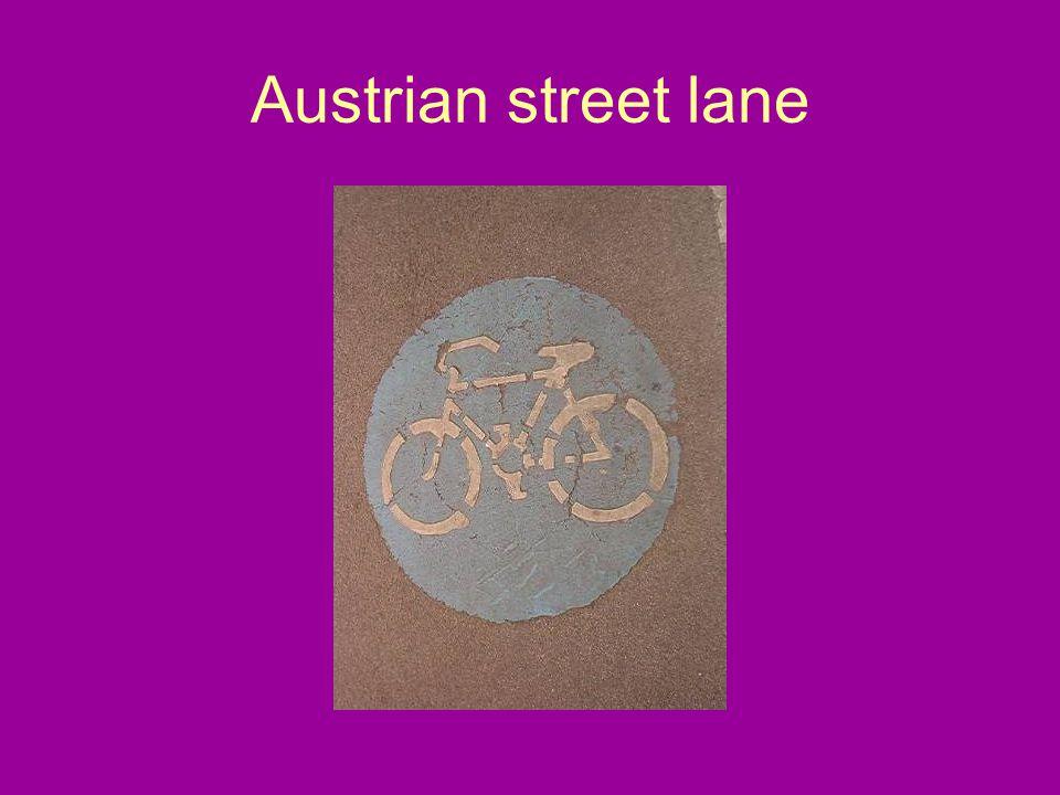 Austrian street lane