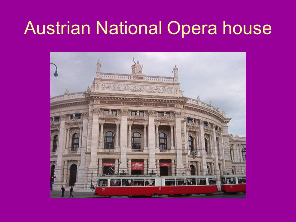 Austrian National Opera house