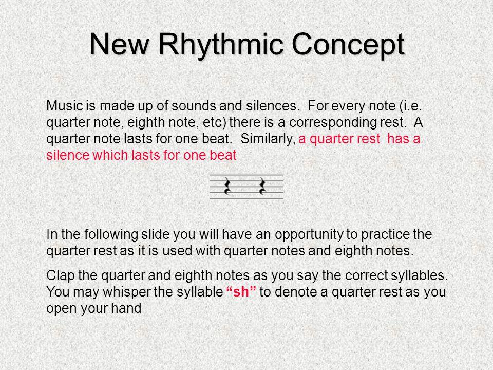 Rhythmic Examples