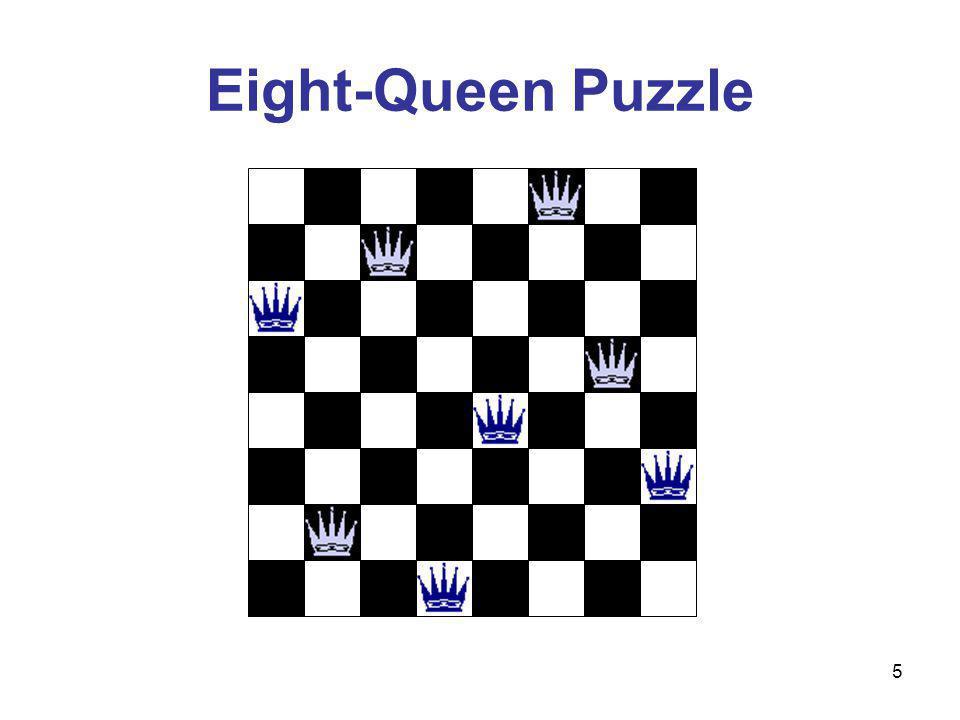 5 Eight-Queen Puzzle