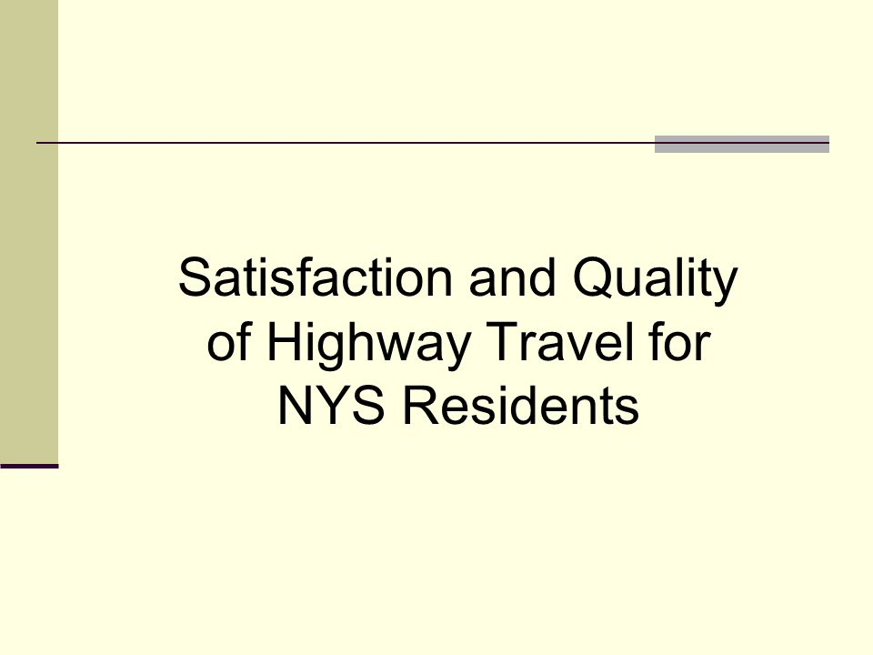 The Surveys 2001/02 National Household Travel Survey (NHTS) 1995/96 Nationwide Personal Transportation Survey (NPTS) Total Daily Household Travel Survey (365) 11 Satisfaction/Quality Question in 2001/02 5 Overlapping Question in 1995/96 How Much of A Problem.