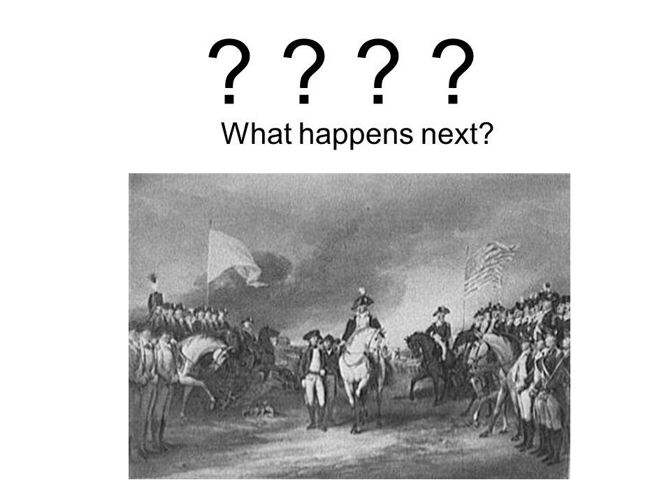 ? ? What happens next?