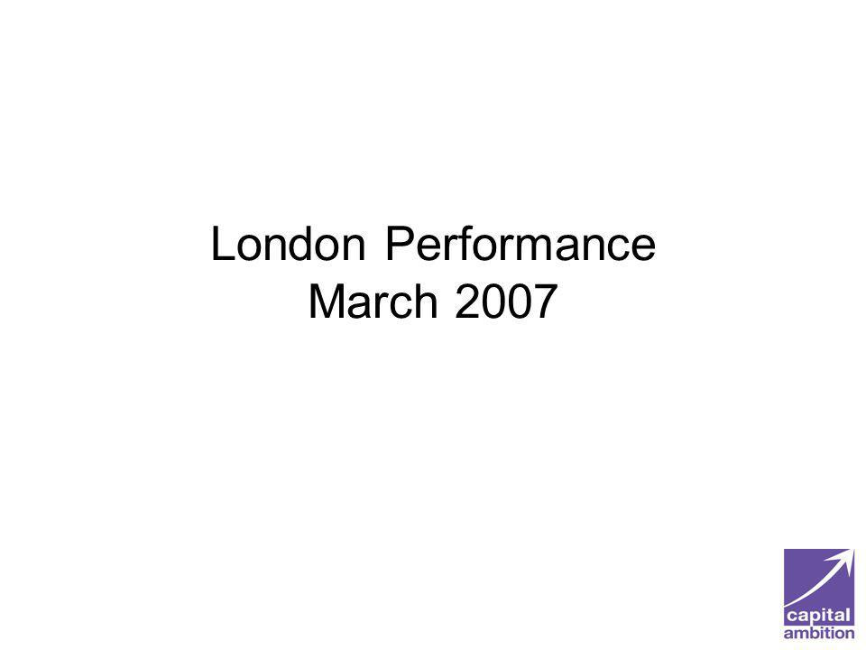 London Performance March 2007