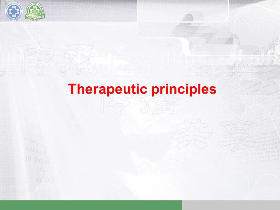 Therapeutic principles