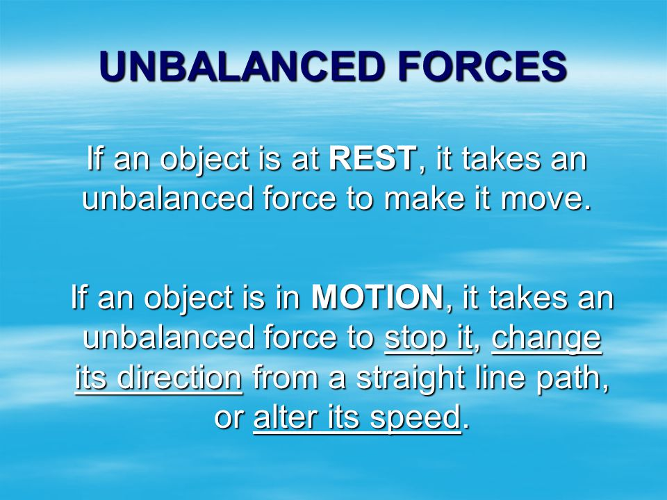 If you are sitting in a seat on a speeding airplane you would still be considered at rest! If rest were defined as a total absence of motion, it would