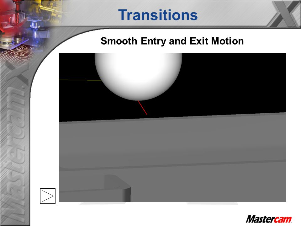 Smooth Entry and Exit Motion Transitions