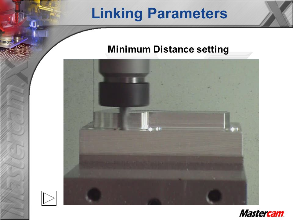 Minimum Distance setting Linking Parameters