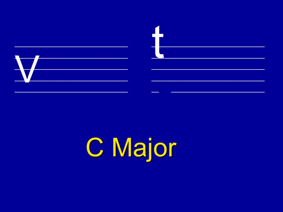 Major Key Signatures
