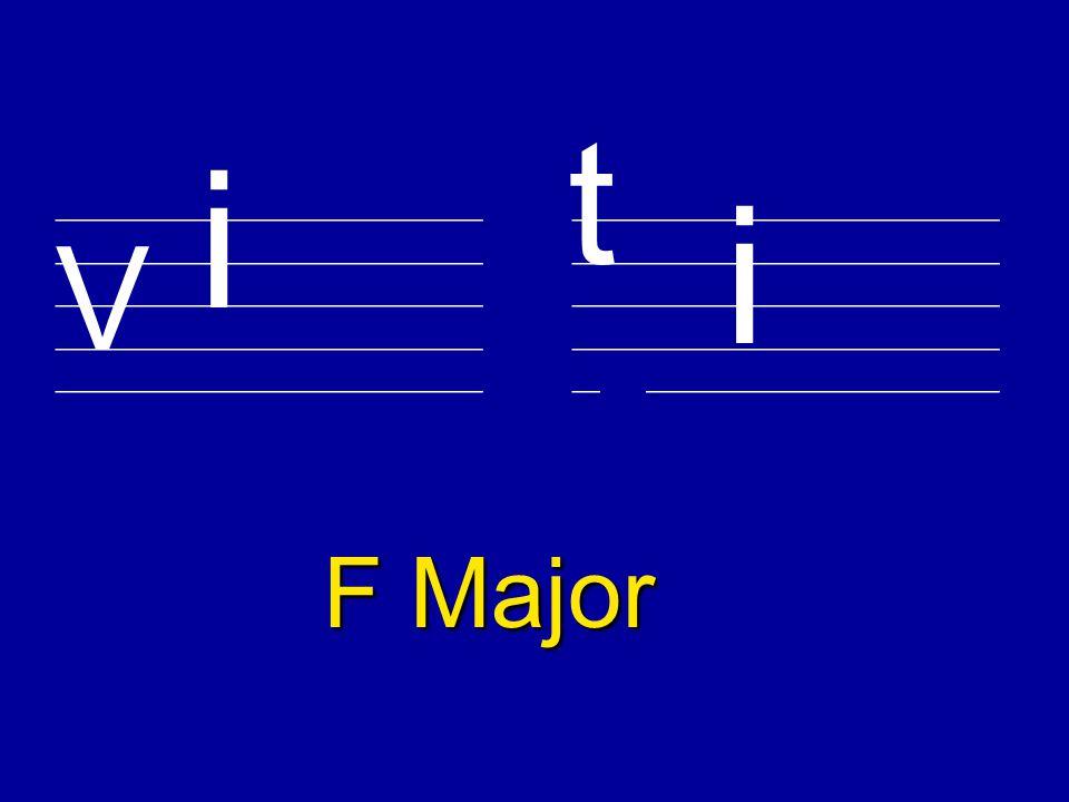 ________________________ V t C Major