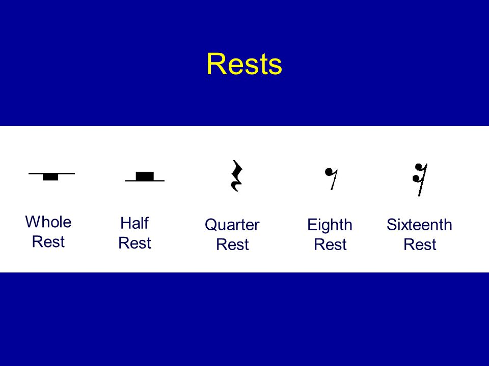 In 6/8 time: A quarter note receives: 2 beats An eighth note receives: 1 beat A dotted quarter note receives: 3 beats A half note receives: 4 beats A