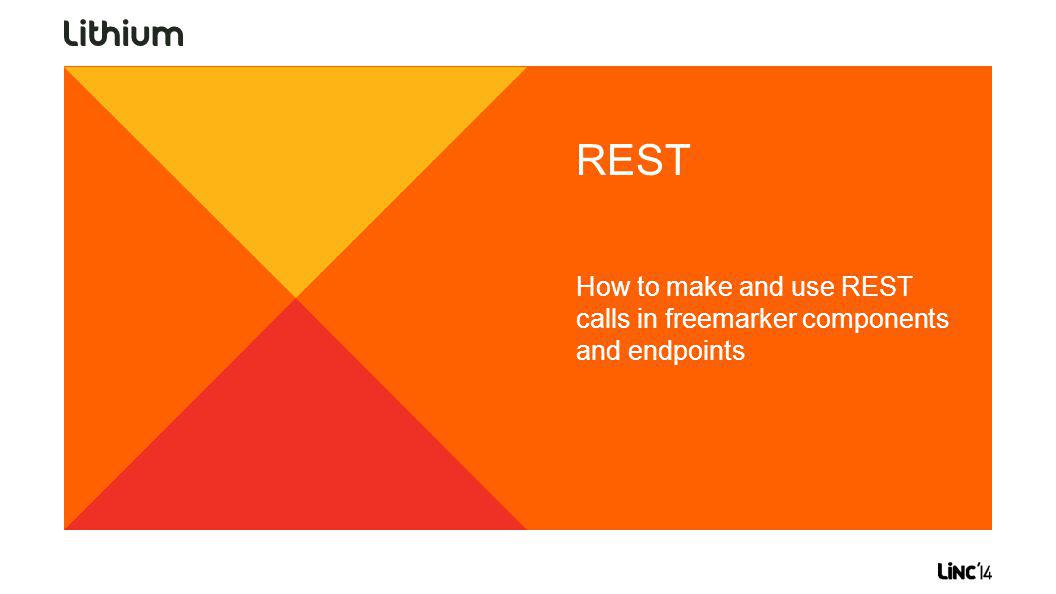 REST How to make and use REST calls in freemarker components and endpoints