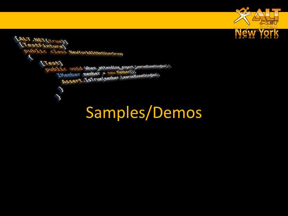 Samples/Demos