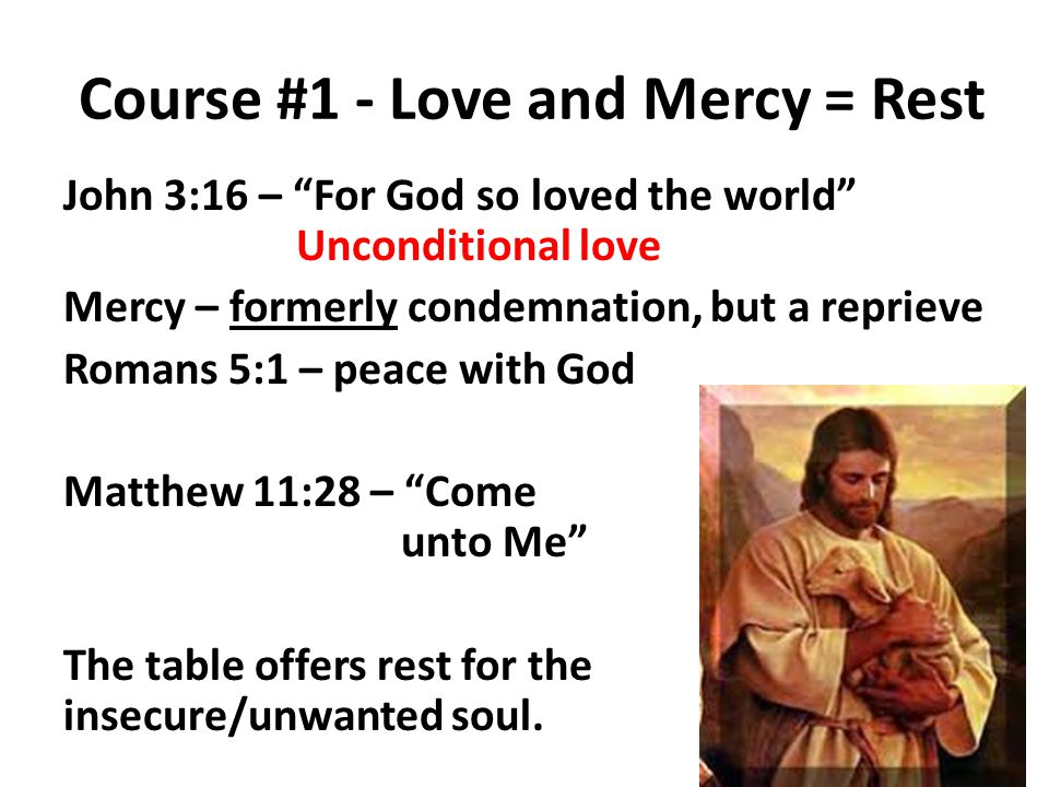 Course #2 – Forgiveness and Cleansing = Rest The heavy burden of guilt, shame, sorrow is crushing.