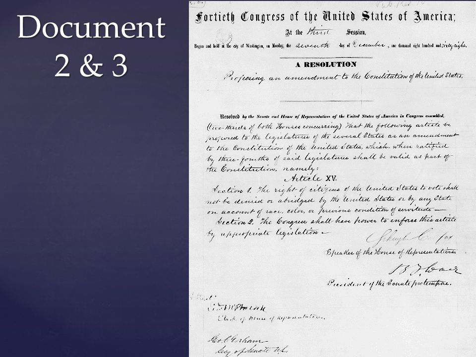 Document 2 & 3