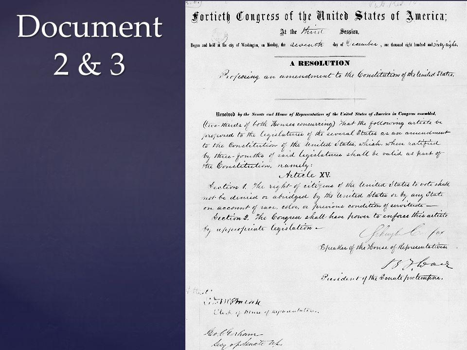 Document Checklist Document Checklist