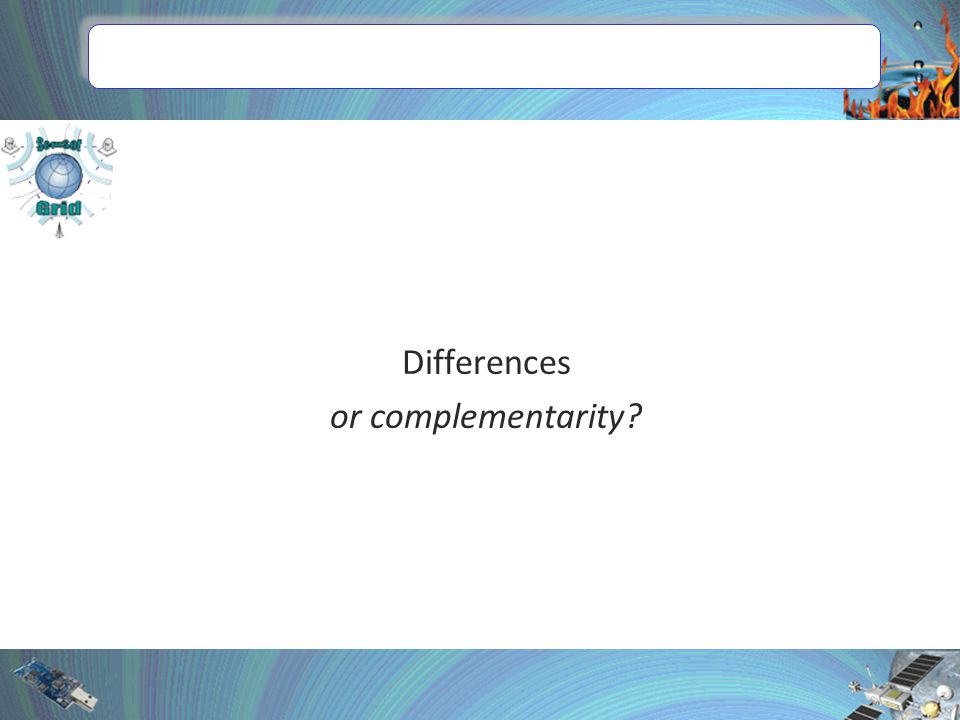 Differences or complementarity