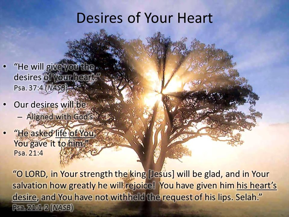 Desires of Your Heart