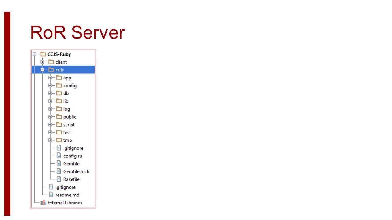 RoR Server