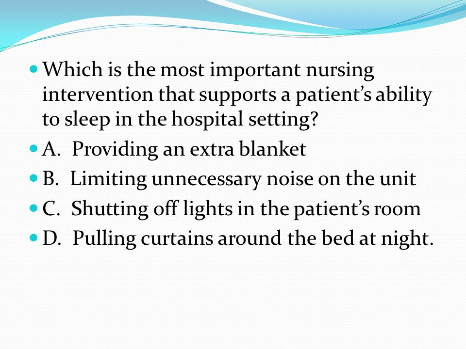 Answer: B. A continuous positive airway pressure (CPAP) mask worn over the nose when sleeping keeps the upper airway patent through continuous positiv