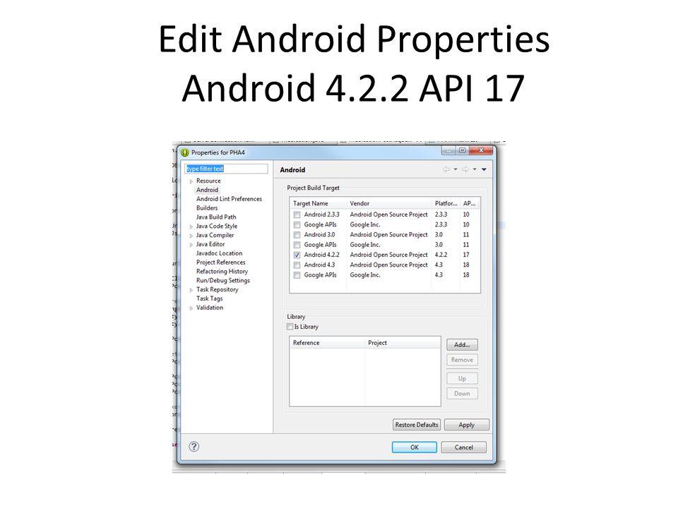 Setup Android Virtual Device (AVD)