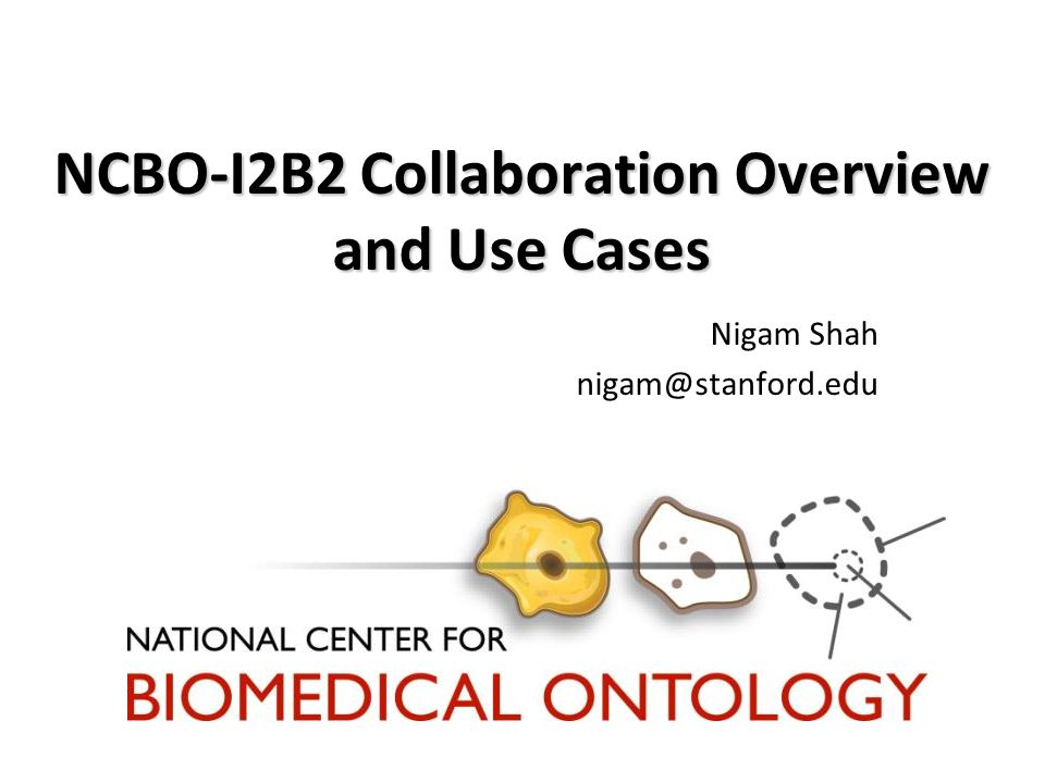 NCBO: Key activities We create and maintain a library of biomedical ontologies.